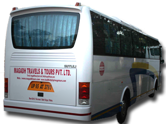 Luxury bus - magadh